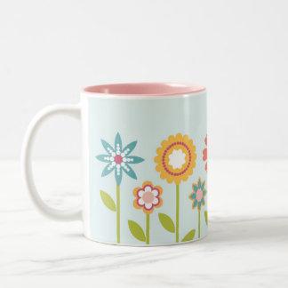 Romantic garden mug