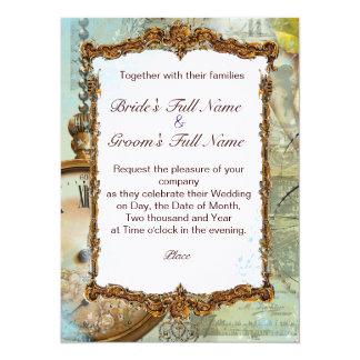 Romantic Gazebo & Fancy Scrolls Card