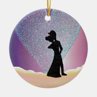 Romantic Gesture. Christmas Ornament