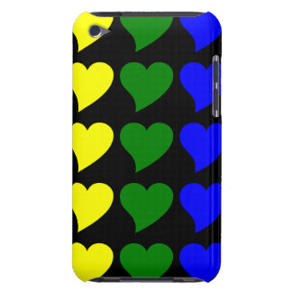 Romantic Gifts for Girls : A Rainbow of Hearts Case-Mate iPod Touch Case
