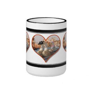 Romantic Gondola Ride (Add Your Text) Coffee Mugs