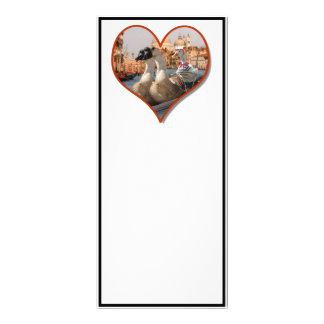 Romantic Gondola Ride (Add Your Text) Custom Rack Card