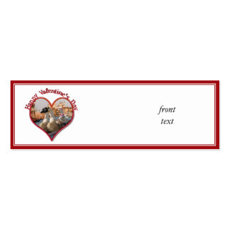 Romantic Gondola Ride for Valentine s Day Business Card Templates
