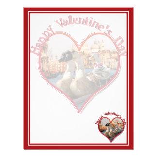 Romantic Gondola Ride for Valentine's Day Flyers
