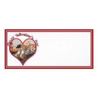 Romantic Gondola Ride for Valentine's Day Full Color Rack Card