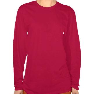 Romantic Gondola Ride w Red Satin Background Tshirts
