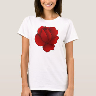 Romantic gothic red rose T-Shirt