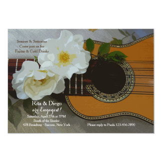 Romantic Guitar Invitation