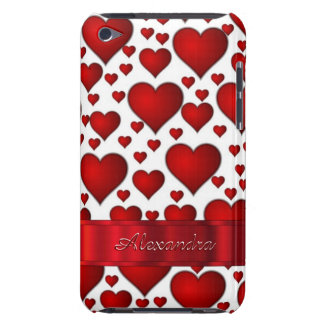 Romantic heart pattern personalized iPod touch covers