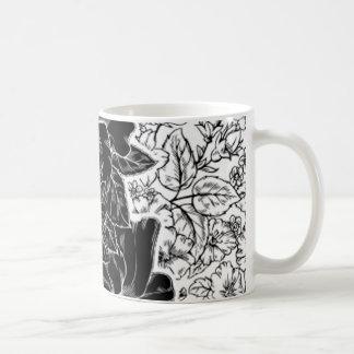 Romantic Hibiscus Custom Design Coffee Mug