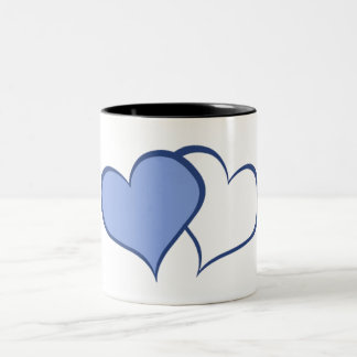 Romantic His BETTER HALF HE+he (1 of 2) Two-Tone Coffee Mug