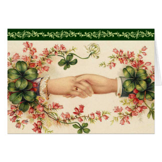 Romantic Irish Save the Date Cards