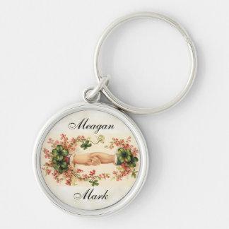 Romantic Irish Wedding Favors Key Ring