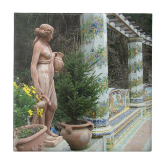 Romantic Italy custom tile