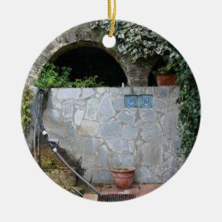 Romantic Italy double-sided custom ornament