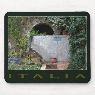 Romantic Italy mousepad