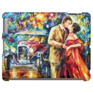 Romantic Kiss iPad Barely There Case iPad Case