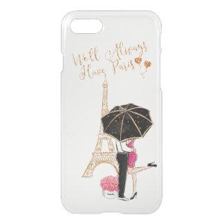Romantic Love Couple Eiffel Tower iPhone 7/8 Case