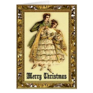 Romantic Magic Victorian Greeting Card
