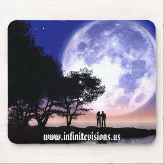 Romantic Moonlight Mouse Mat