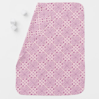 ROMANTIC NOTES [pink] Receiving Blankets