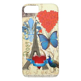 Romantic Paris collage iPhone 8/7 Case