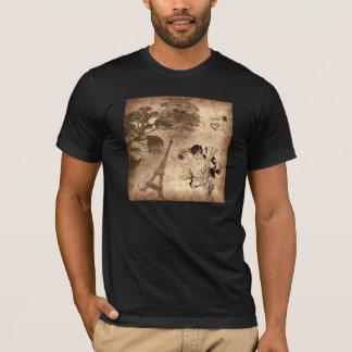 Romantic Paris Vintage T-Shirt