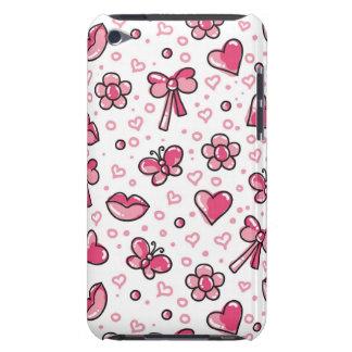 romantic pattern iPod Case-Mate cases
