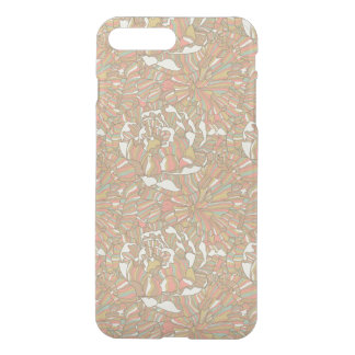 Romantic pattern made of peony flowers iPhone 8 plus/7 plus case