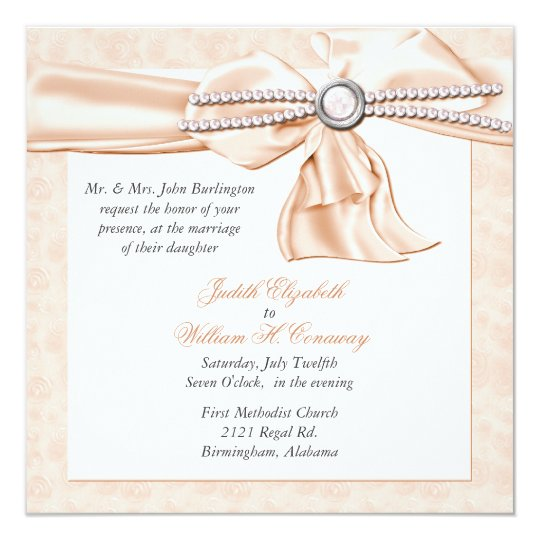 YAY For Wedding Cake Wedding Invitation