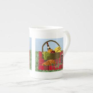 Romantic Picnic Porcelain Mugs
