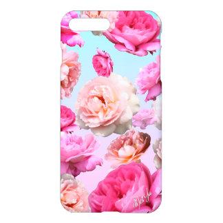 Romantic Pink Floral iPhone 7 PLUS Slim Phone Case