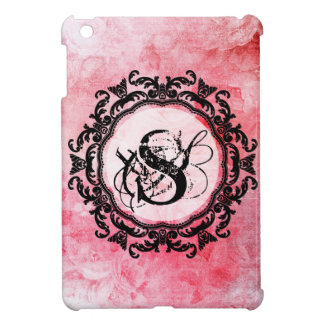 Romantic Pink Old Rose Chic Pattern iPad Mini Cover