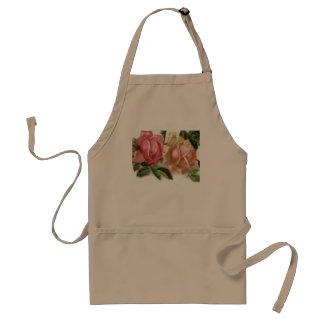 Romantic Pink Roses Standard Apron