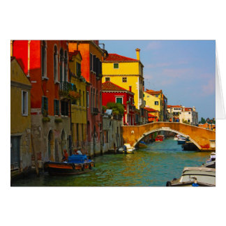 Romantic places in Venice Greeting Card