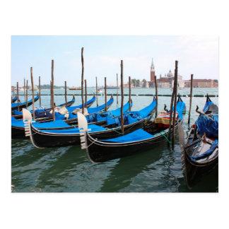 Romantic places in Venice Postcards