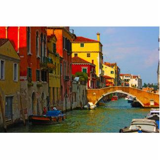 Romantic places in Venice Standing Photo Sculpture