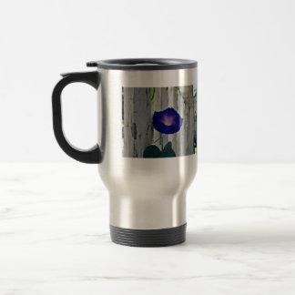 Romantic purple flowers coffee mug
