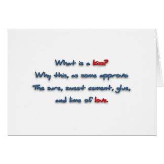 Romantic Quote - What is a kiss? Why this, as so … Note Card