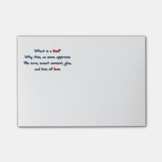 Romantic Quote - What is a kiss? Why this, as so … Post-it® Notes