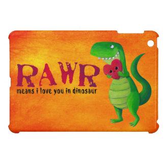Romantic RAWR T-rex Dinosaur Case For The iPad Mini