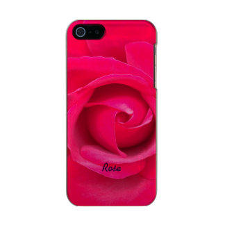Romantic Red Pink Rose Personalized Incipio Feather® Shine iPhone 5 Case