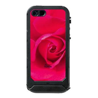 Romantic Red Pink Rose Personalized v2 Incipio ATLAS ID™ iPhone 5 Case