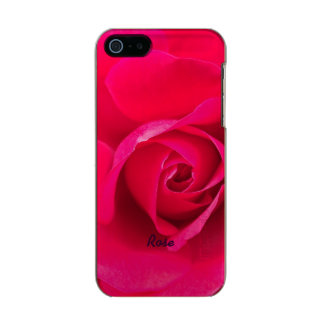 Romantic Red Pink Rose Personalized v2 Incipio Feather® Shine iPhone 5 Case