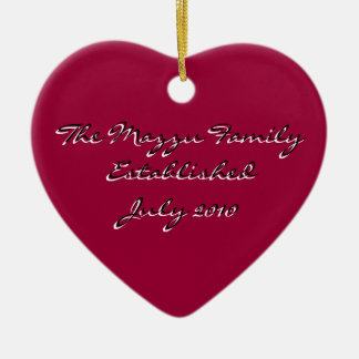 Romantic Reminder Christmas Ornament