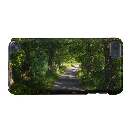 Romantic Road In The Forest Landscape iPod Touch (5th Generation) Covers