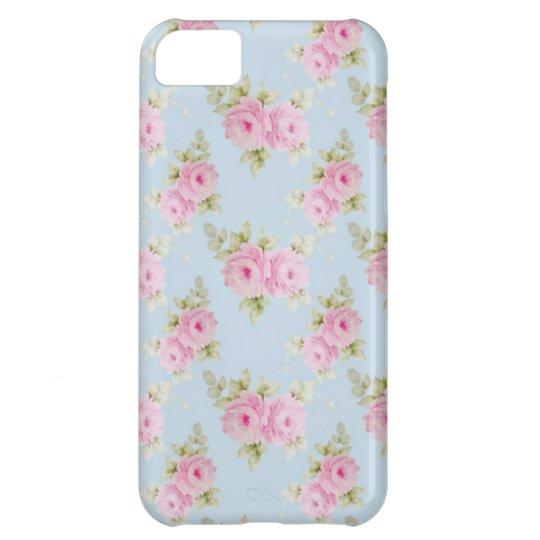 Romantic Rococo Pink Rose iPhone 5C Case