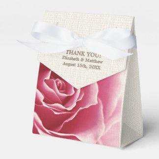 Romantic Rose Design Wedding Favor Boxes Party Favour Box