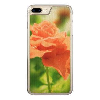 Romantic Rose Flowers #2 Carved iPhone 8 Plus/7 Plus Case