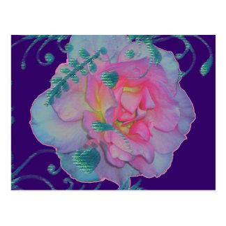 Romantic Rose Postcard